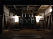 Temple la nuit